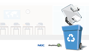 NEC'S TRADE IN-TRADE UP RECYCLING PROGRAM